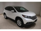 2013 White Diamond Pearl Honda CR-V EX AWD #138232614