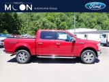 2020 Rapid Red Ford F150 Lariat SuperCrew 4x4 #138270296