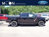 2020 Agate Black Ford F150 Lariat SuperCrew 4x4 #138270295