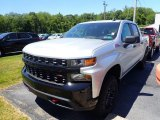 2020 Silver Ice Metallic Chevrolet Silverado 1500 Custom Trail Boss Crew Cab 4x4 #138270272