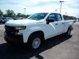 2020 Summit White Chevrolet Silverado 1500 WT Double Cab #138283891