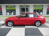 2014 Melbourne Red Metallic BMW 3 Series 320i Sedan #138295875