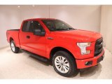 2016 Race Red Ford F150 XL SuperCab 4x4 #138295913