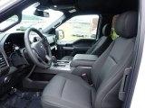 2020 Ford F150 XLT SuperCab 4x4 Black Interior