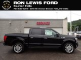 2020 Agate Black Ford F150 Limited SuperCrew 4x4 #138306381