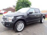 2020 Ford F150 Limited SuperCrew 4x4 Front 3/4 View
