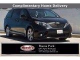 2011 Black Toyota Sienna SE #138319359