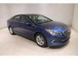 2017 Lakeside Blue Hyundai Sonata SE #138337129