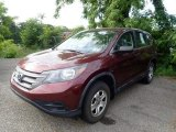 2013 Basque Red Pearl II Honda CR-V LX AWD #138337056