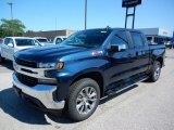 2020 Northsky Blue Metallic Chevrolet Silverado 1500 LT Crew Cab 4x4 #138347903