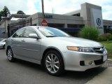 2006 Alabaster Silver Metallic Acura TSX Sedan #13820348