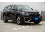 2020 Crystal Black Pearl Honda CR-V LX AWD Hybrid #138360552