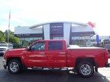 2016 Red Hot Chevrolet Silverado 1500 LT Crew Cab 4x4 #138360579