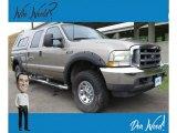 2003 Arizona Beige Metallic Ford F250 Super Duty XL Crew Cab 4x4 #138374130