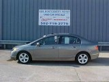 2006 Galaxy Gray Metallic Honda Civic EX Sedan #13830582