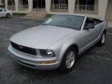 2007 Satin Silver Metallic Ford Mustang V6 Premium Convertible #13823455