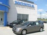 2007 Galaxy Gray Metallic Honda Civic LX Sedan #13811192