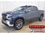 2020 Shadow Gray Metallic Chevrolet Silverado 1500 LT Crew Cab 4x4 #138404896