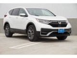 2020 Platinum White Pearl Honda CR-V EX AWD Hybrid #138404825