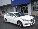 2017 Quartz White Pearl Hyundai Sonata SE #138416681