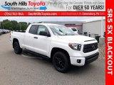 2020 Super White Toyota Tundra SR5 Double Cab 4x4 #138416630
