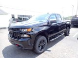 2020 Black Chevrolet Silverado 1500 Custom Trail Boss Double Cab 4x4 #138430970
