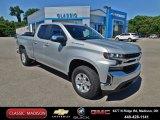 2020 Silver Ice Metallic Chevrolet Silverado 1500 LT Double Cab 4x4 #138431048