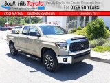 2020 Quicksand Toyota Tundra TRD Off Road Double Cab 4x4 #138430955