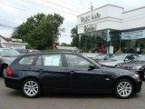 2007 Monaco Blue Metallic BMW 3 Series 328xi Wagon #13814576