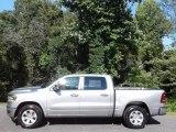 2020 Billet Silver Metallic Ram 1500 Laramie Crew Cab 4x4 #138442681
