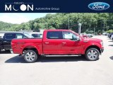 2020 Rapid Red Ford F150 Lariat SuperCrew 4x4 #138460153