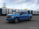 2020 Velocity Blue Ford F150 XLT SuperCrew 4x4 #138460259