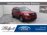 2017 Ruby Red Ford Explorer Sport 4WD #138460187