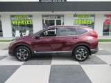 2017 Basque Red Pearl II Honda CR-V Touring AWD #138477682