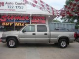 2003 Light Pewter Metallic Chevrolet Silverado 1500 HD Crew Cab 4x4 #13826488