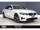 2020 Mineral White Metallic BMW 3 Series 330i Sedan #138487911