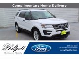 2017 Oxford White Ford Explorer FWD #138487890