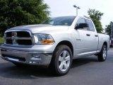 2009 Bright Silver Metallic Dodge Ram 1500 SLT Quad Cab #13822124