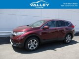 2017 Basque Red Pearl II Honda CR-V EX AWD #138486540