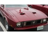 1973 Ford Mustang Ruby Red