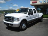2005 Oxford White Ford F350 Super Duty Lariat Crew Cab 4x4 Dually #13817914