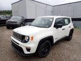 2020 Alpine White Jeep Renegade Sport #138487765