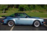 1985 Porsche 911 Iris Blue