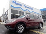 2012 Basque Red Pearl II Honda CR-V EX-L 4WD #138487736