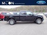 2020 Agate Black Ford F150 XLT SuperCab 4x4 #138487722