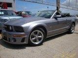 2006 Tungsten Grey Metallic Ford Mustang GT Premium Convertible #13815622