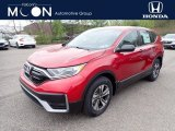 2020 Radiant Red Metallic Honda CR-V LX AWD #138487699