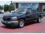2005 Deep Blue Metallic GMC Sierra 1500 Work Truck Regular Cab #13819930