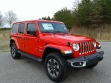 2020 Jeep Wrangler Unlimited Firecracker Red