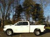 2020 Bright White Ram 1500 Laramie Quad Cab 4x4 #138486364